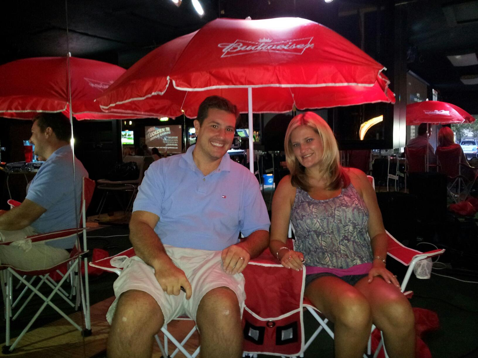 3rd I Love Shelby Budweiser Beach Set With 2 Chairs